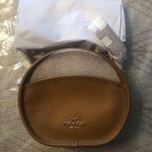 Tan Coach Canteen Bag